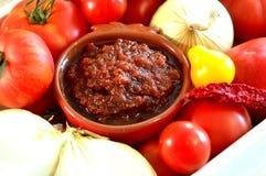 Relish tomato. Royalty Free Stock Photography