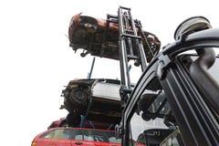 Relitti dell'automobile Immagine Stock