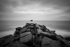 Relitto degli ss Atlansus di Cape May NJ fotografia stock
