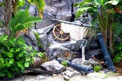 Relitto del pirata immagine stock libera da diritti