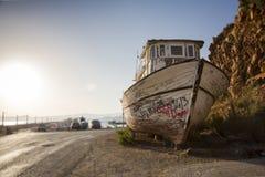 Relitto della barca Fotografie Stock