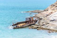 Relitto della nave Immagini Stock Libere da Diritti