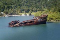 Relitto della nave Immagini Stock