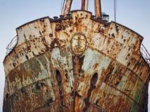 Relitto m/v Dimitrios della nave Immagini Stock Libere da Diritti