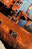 Relitto nel mare Fotografia Stock Libera da Diritti