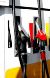 Relleno de la gasolina Foto de archivo