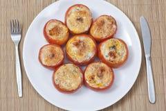 Relleno de los tomates Foto de archivo libre de regalías