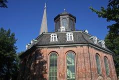 Rellingen Church. Octagonal church in Rellingen, Germany Stock Image