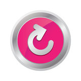 Reload button Royalty Free Stock Photography