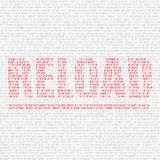 Reload code background Royalty Free Stock Photos