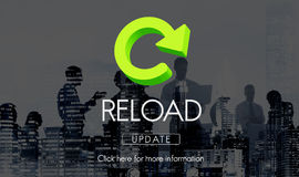 Reload Functionality Destruction Refresh Concept Royalty Free Stock Image