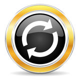 Reload icon Royalty Free Stock Image