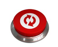 Reload icon. 3d illustration of Reload icon Royalty Free Stock Images