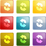Reload navigation icon Stock Photos