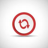 Reload sign. Color arrow icon. Abstract vector arrow vector illustration