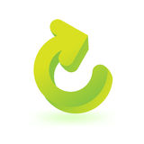 Reload symbol Stock Photography