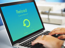 Reload Update Upgrade New Version Concept Stock Photo
