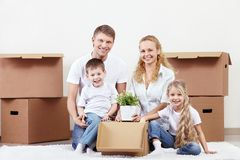 Relocation Stock Photo