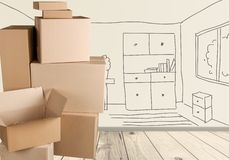 Relocation Royalty Free Stock Photos