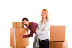 Relocation Issues Royalty Free Stock Photography