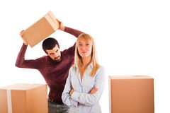 Relocation Issues Royalty Free Stock Photos