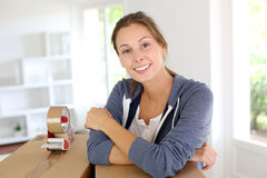 Relocation prepration Stock Images