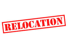 RELOCATION Royalty Free Stock Photography