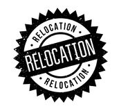 Relocation rubber stamp Royalty Free Stock Photography