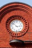 Reloj 1 de la fábrica Fotos de archivo libres de regalías