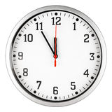 reloj 5 a 12 Imagen de archivo