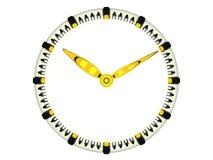 Reloj aislado Imagen de archivo