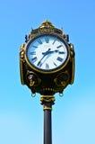 Reloj al aire libre de la vendimia Imágenes de archivo libres de regalías