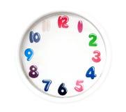 Reloj analogico simple ilustración del vector