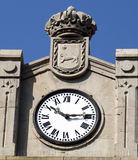 Reloj antiguo. Foto de archivo