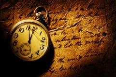 Reloj antiguo Fotos de archivo