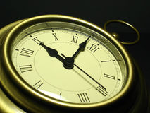 Reloj antiguo fotografía de archivo libre de regalías