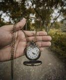 Reloj antiguo Fotos de archivo libres de regalías