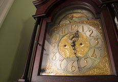 Reloj antiguo adornado imagen de archivo libre de regalías