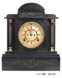Reloj antiguo con los números romanos Fotos de archivo libres de regalías