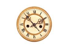 Reloj antiguo de la vendimia Fotos de archivo