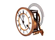 Reloj antiguo de la vendimia Fotos de archivo libres de regalías