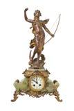 Reloj antiguo de la vendimia Fotografía de archivo libre de regalías