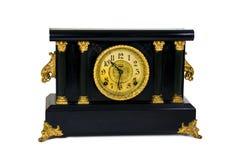 Reloj antiguo del escritorio Foto de archivo