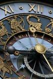 Reloj astrológico fotografía de archivo