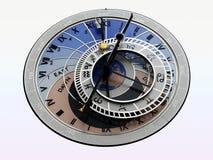 Reloj astrológico Foto de archivo libre de regalías
