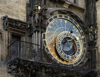 Reloj astrológico de Praga Fotos de archivo libres de regalías