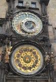 Reloj astronómico Imágenes de archivo libres de regalías