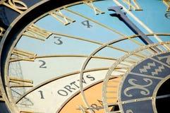 Reloj astronómico Fotografía de archivo