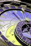 Reloj astronómico Imagen de archivo libre de regalías