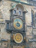 Reloj astronómico de Praga Imagen de archivo